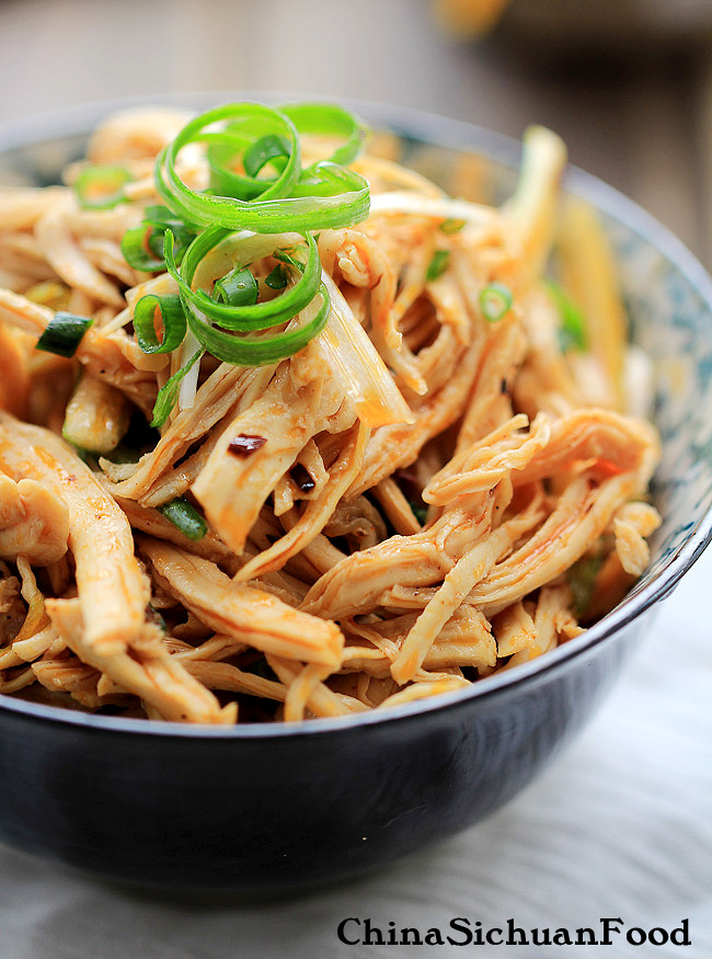 Chicken (Bang Bang Chicken-shredded chicken salad) – China Sichuan ...