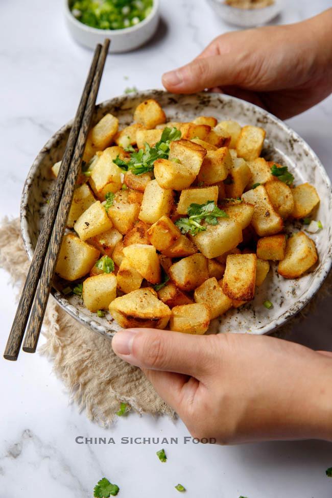sautéed potatoes chinasichuanfood.com
