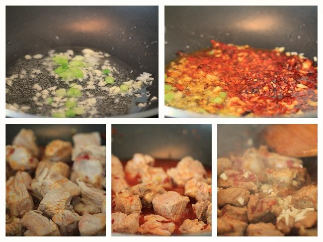 Spicy Garlic Ribs-Braised version