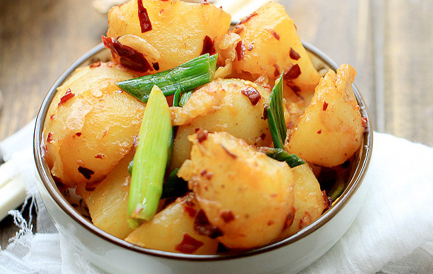 Red Braised Potatoes