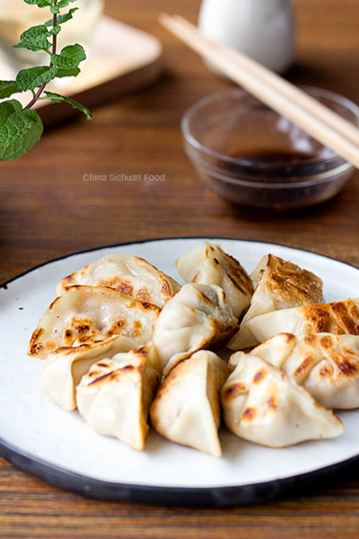 How to make dumplings-pan-fried version