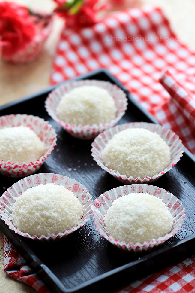 Sticky Rice Balls--Nuomici