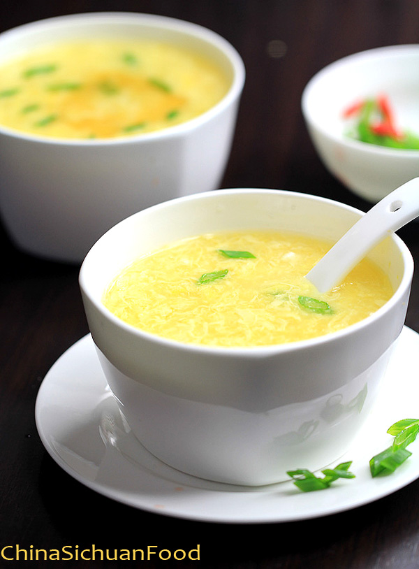 Corn Egg Drop Soup (Corn Soup Recipe) – China Sichuan Food