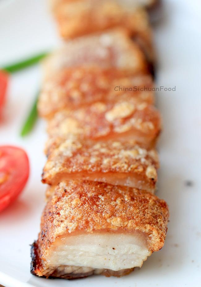Crispy Pork Belly (Siu Yuk)