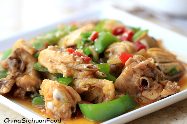 Chinese Hunan Chicken – Donan Chicken – China Sichuan Food