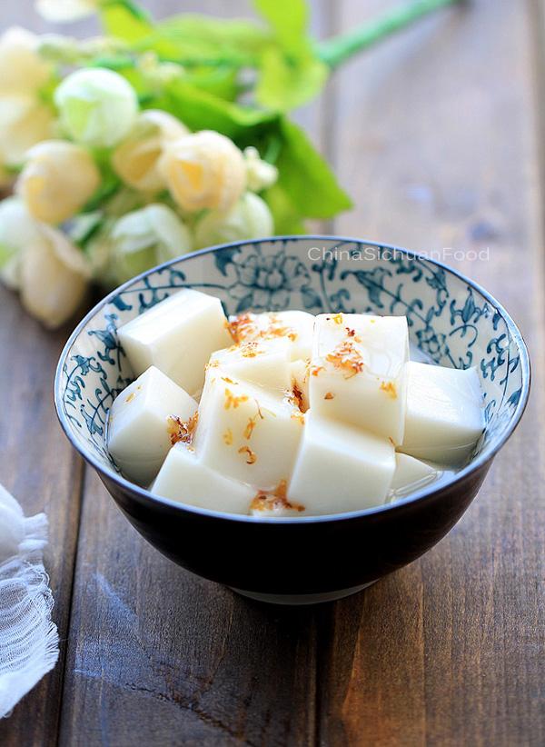 Chinese Almond Tofu