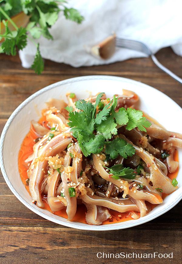 Chinese Pig Ear Salad