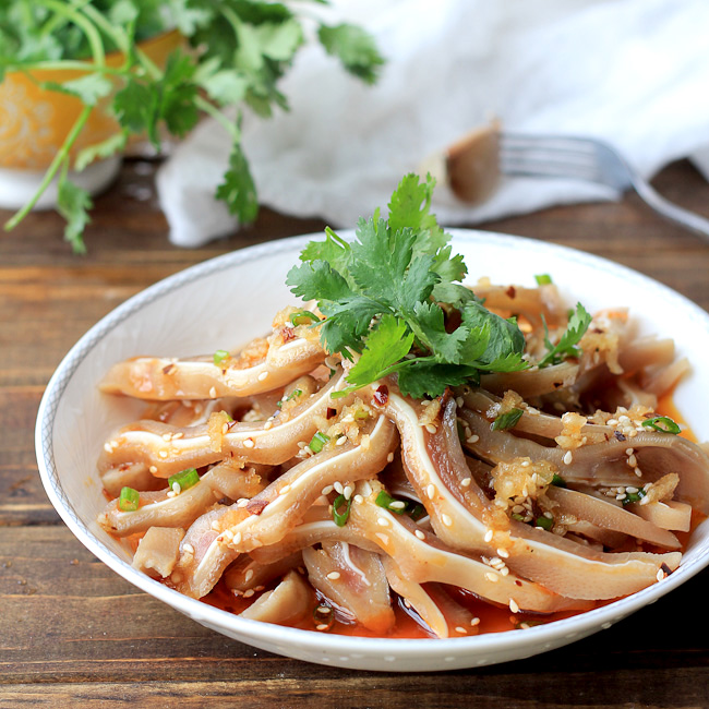 Salad and cold dishes page 2 china sichuan food chinese pig ear salad forumfinder Choice Image