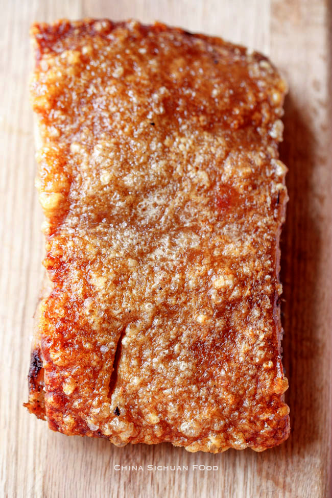 crispy pork belly| chinasichuanfood.com