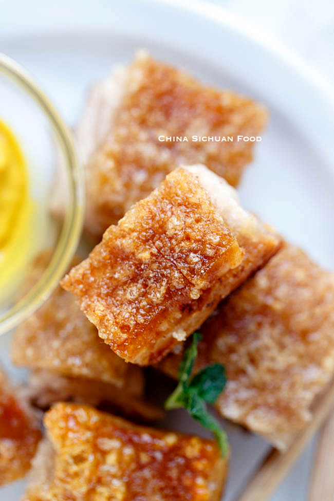 crispy pork belly|chinasichuanfood.com