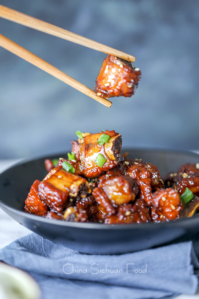 Chinese sweet and sour ribs