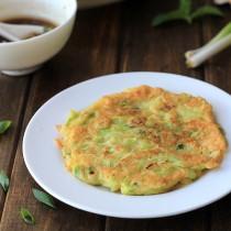 Zucchini Pancakes Chinese Style