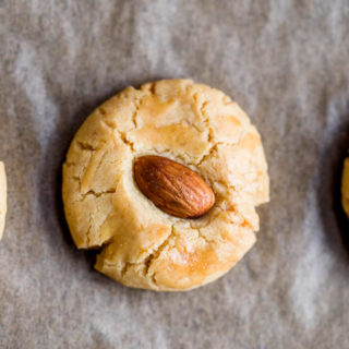 New Year Almond Cookie|ChinaSichuanFood.com