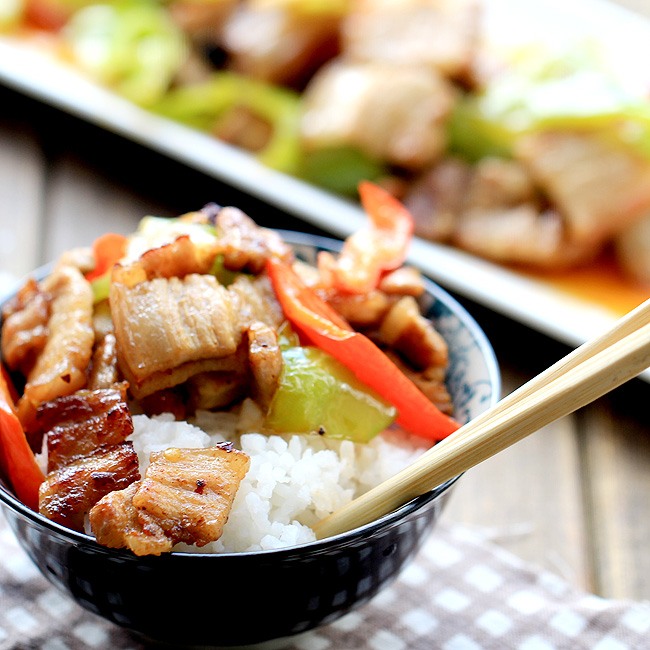 easy pork stir fry