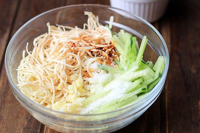 Chicken Noodle Salad- Sichuan Liang Mian – China Sichuan Food