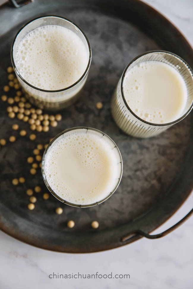 soy milk|chinasichuanfood.com