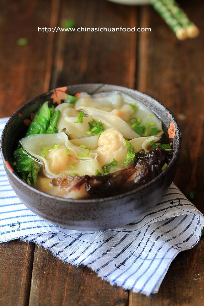 Chinese Shrimp Wonton Soup – China Sichuan Food