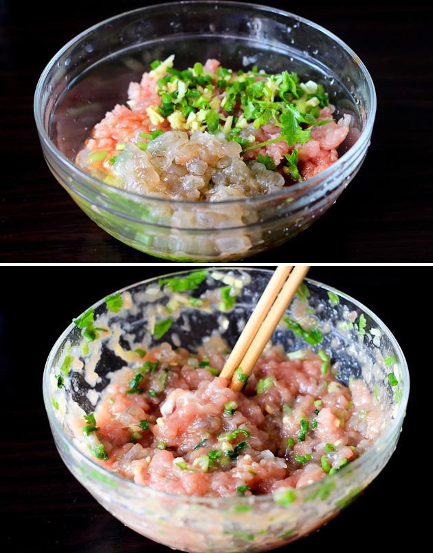 Cantonese Shrimp Wonton Soup