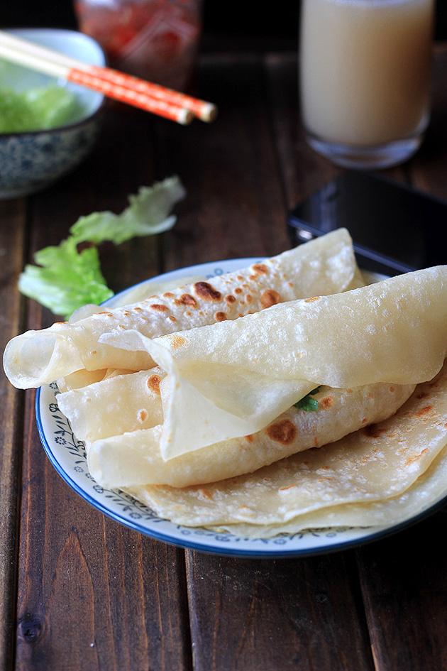Chinese Mandarin pancake—Moo Shu shells