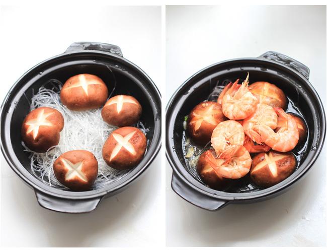 mung bean noodles clay pot