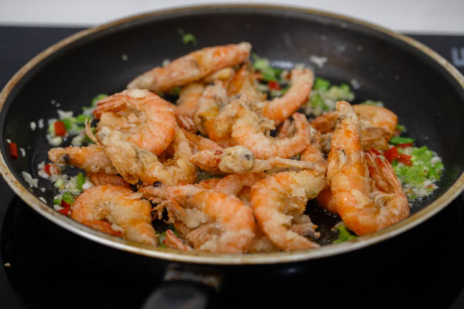 salt and pepper shrimp|chinasichuanfood.com