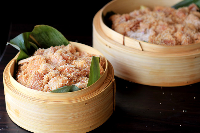 FenzhengRou) Steamed Pork with Rice Flour – China Sichuan Food