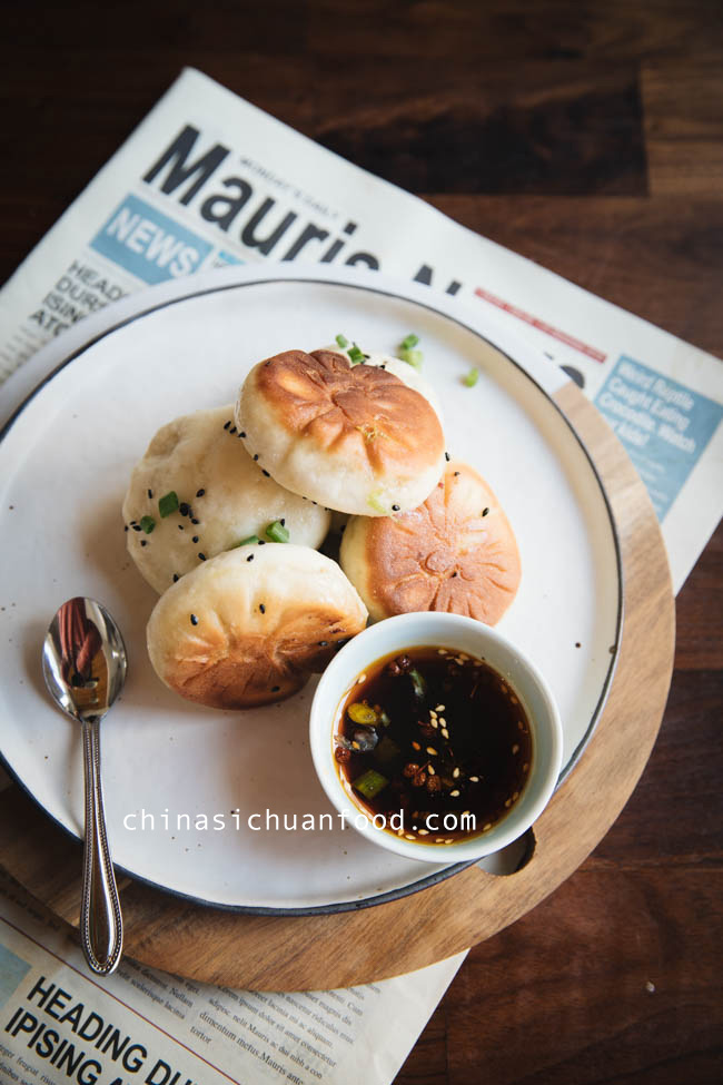 Shengjian- Chinese Pan-fried pork buns|chinasichuanfood.com