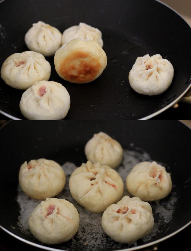 Sheng Jian Bao--Pan-Fried Pork Buns