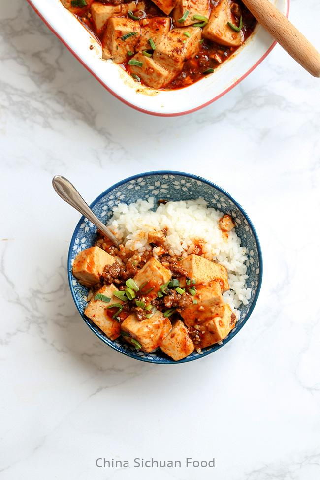 mapo tofu China Sichuan Food