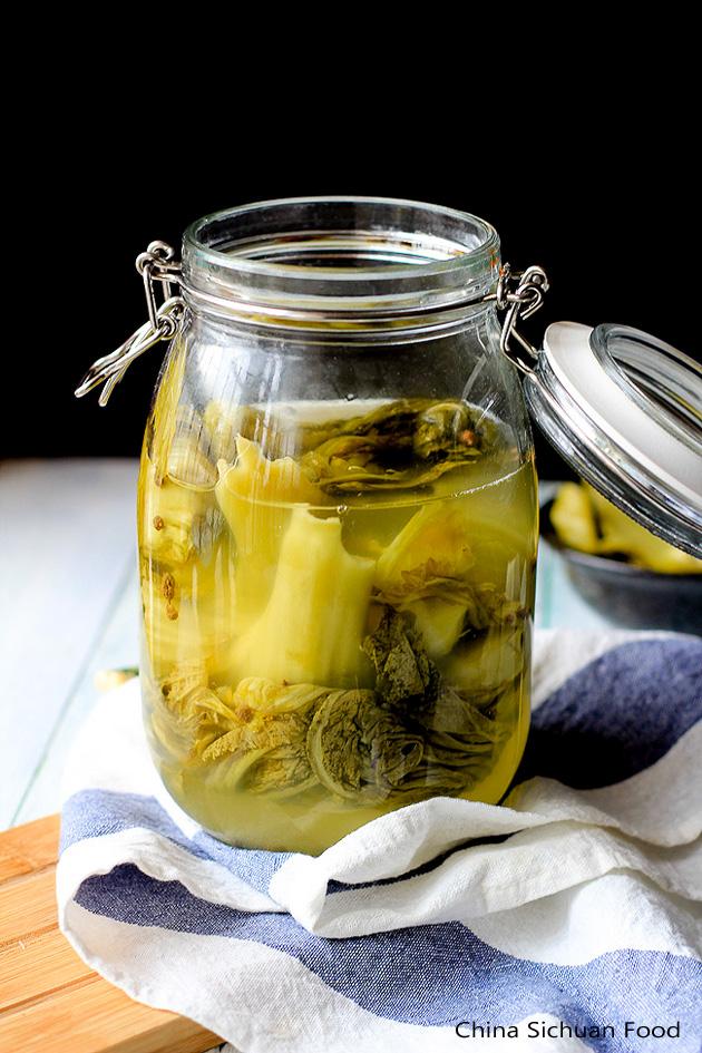 pickled mustard green recipe