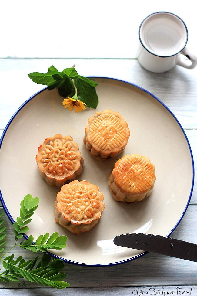 Chinese Moon Cake(Yue Bing Recipe)—Traditional Version ...