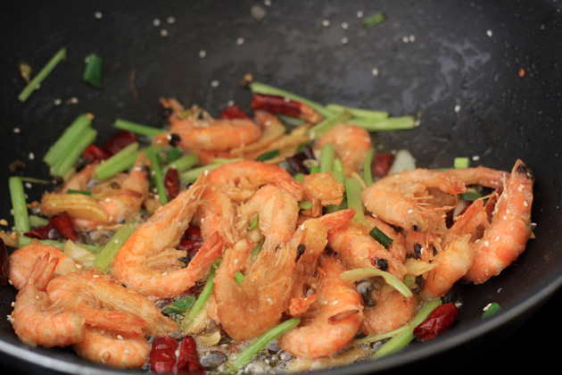 Sichuan Peppercorn Shrimp Recipe — Dishmaps