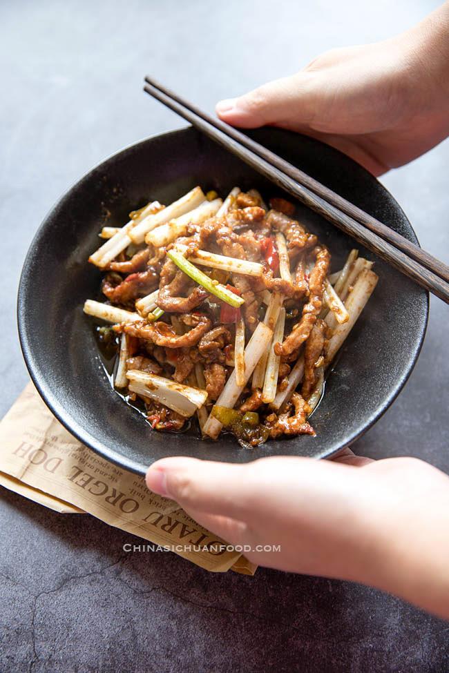 Szechuan beef stir fry|chinasichuanfood.com