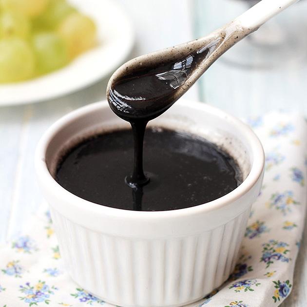 black sesame soup/paste
