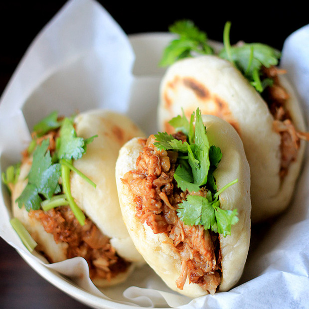 Chinese Hamburger(Rou Jia Mo)-Pork Belly Buns