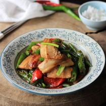 hunan pork stir fry-7th