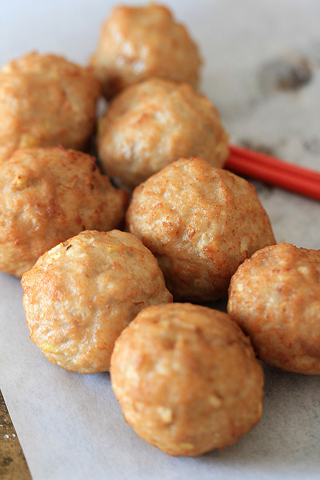 Lion's Head (Chinese Meatballs) Recipe
