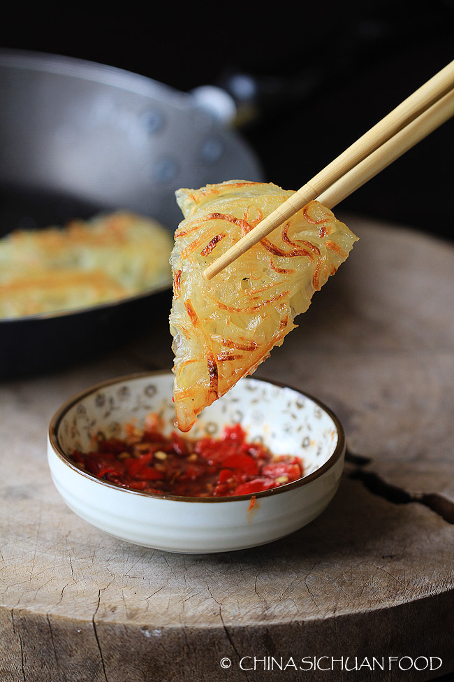 Chinese potato pancake