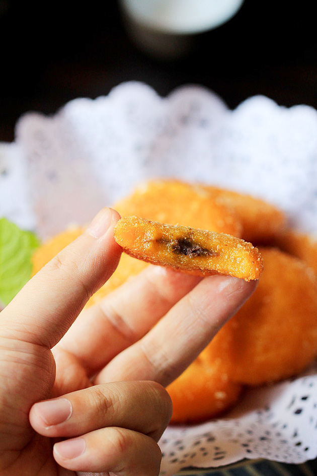 Fried Pumpkin Cake Chinese Recipe
