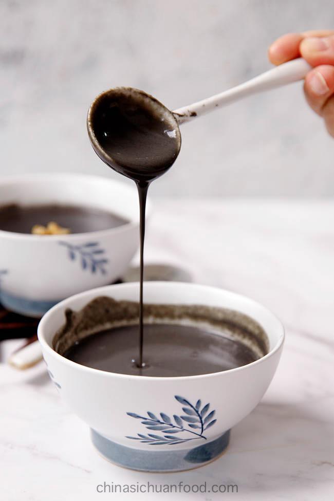 black sesame soup|chinasichuanfood.com
