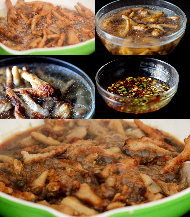 dim sum chicken feet-braised version