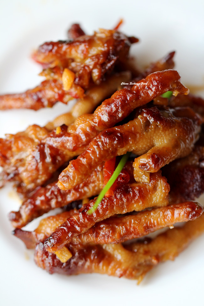 dim sum chicken feet-braised version