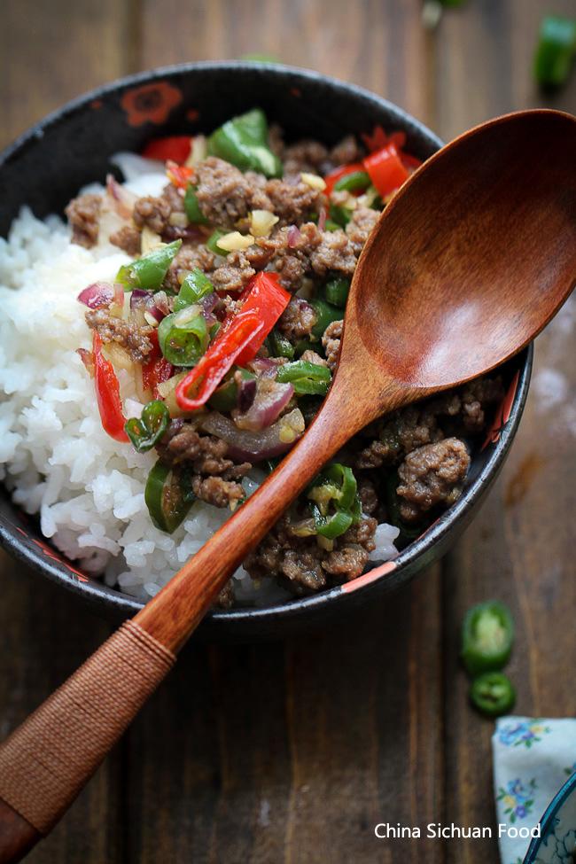 ground beef rice bowl-9 copy
