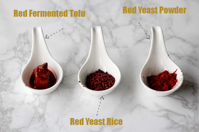 red coloring for char siu pork