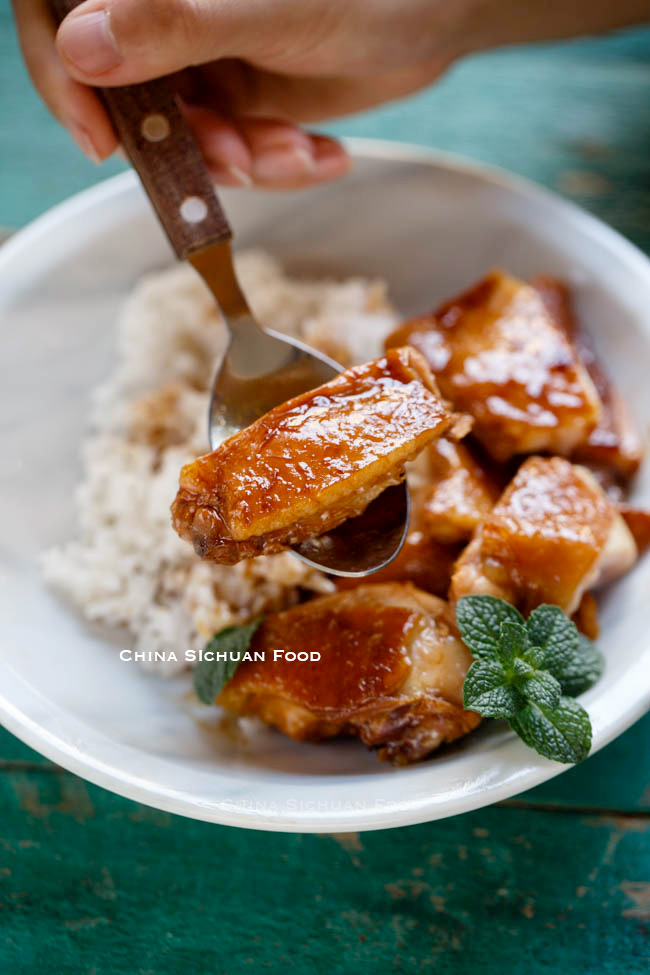 soy sauce chicken|chinasichuanfood.com