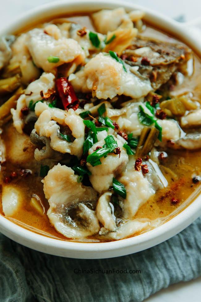 Suan Cai Yu|chinasichuanfood.com