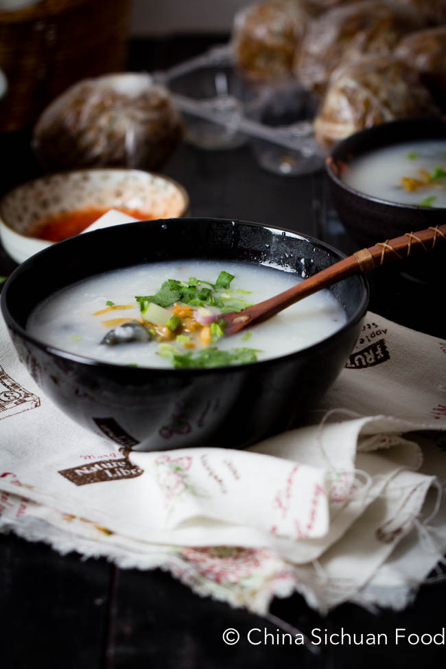 Chinese Pork Congee
