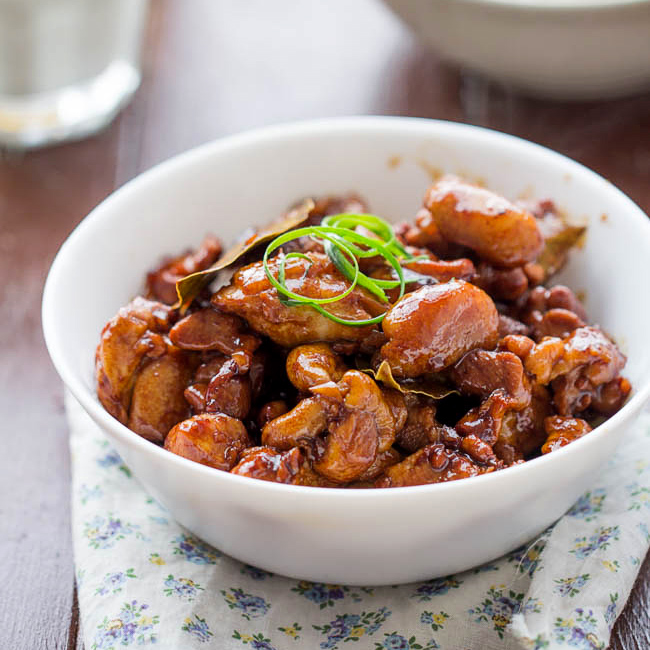 filipino chicken adobo dim sum chicken feet braised chicken with ...