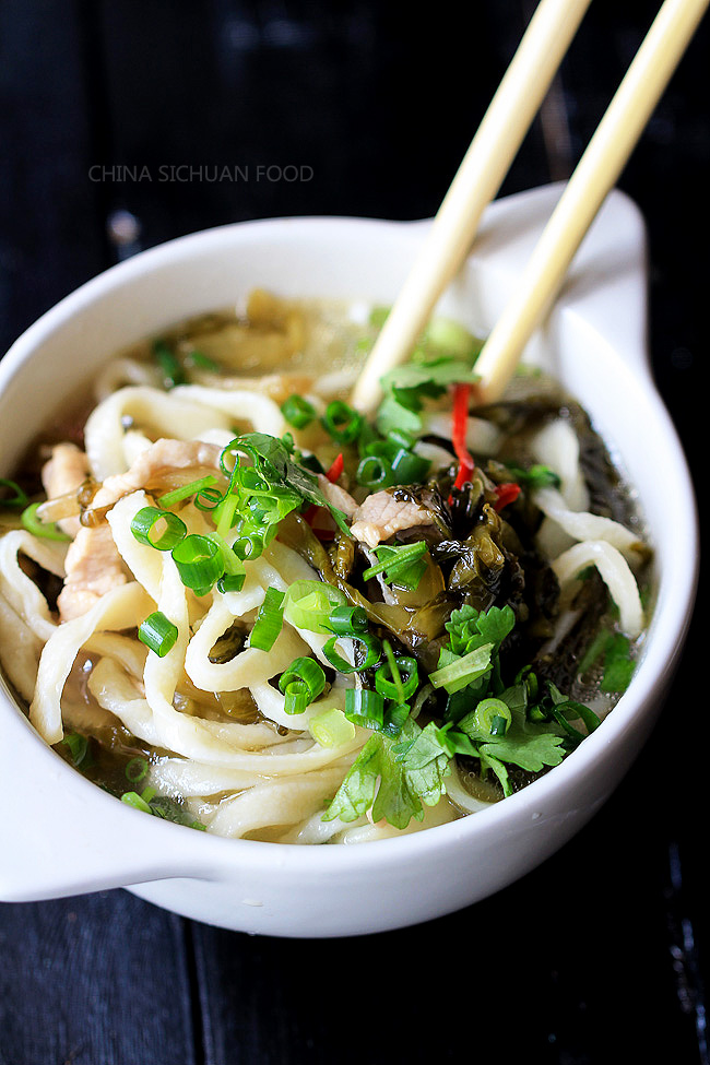 Sichuan Beef Noodle Soup With Pickled Mustard Greens Recipe ...