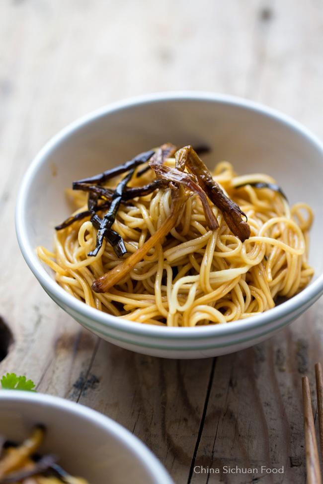 scallion oil noodles